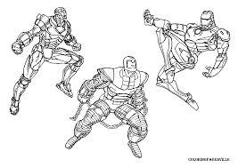 Coloriage Iron Man Les Beaux Dessins De Super H Ros Imprimer