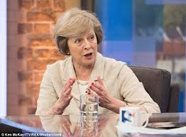 Image result for Theresa May enters No 10