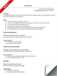 Cover Letter For Montessori Teacher Resume Covers Resume Format