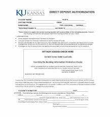 Direct Debit Form 47 Direct Deposit Authorization Form Templates - Template Archive