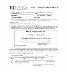 47 Direct Deposit Authorization Form Templates - Template Archive