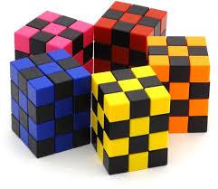 <b>3x3x4</b> checkerboard cubes! | Cube, Creative, Puzzle