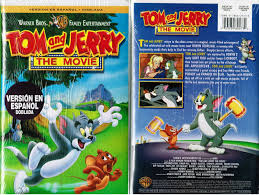 Tom And Jerry The Movie VHS Video Tape New Dubbed in Spanish 0053939805734  for sale online