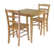 3 piece wood dining set