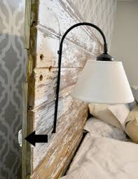 bedside sconces diy bedside sconce simple but stylish creative for bedroom lighting fixtures