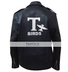 8 reviews for john travolta danny zuko grease t bird black jacket