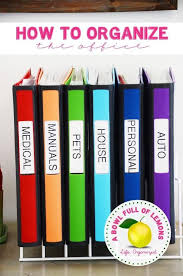 organizing office space. how to organise the paper clutter inspiration organizing office space r