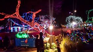 Zoo Lights Tucson Tucson Daily Photo Santa Is At The Reid Park Zoo
