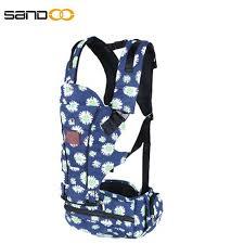China Wholesale Ergonomic Cotton Baby Carrier Backpack   Sandoo