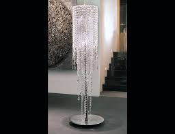 secrets standing chandelier floor lamp new lamps crystal shade vandijkmc
