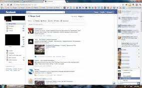 The Facebook Original Design Facebook Testing Yet Another Design Change 4th Column