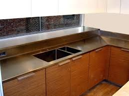 stainless counter top stainless steel counter top stainless steel brooks custom stainless steel countertops cost ikea