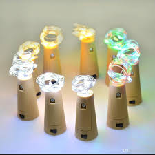 Decorative Wine Bottles With Lights Rgb Wine Bottle Cork Copper String Lights 100inch 100cm 100 Led Wire 87