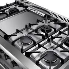 HRG4808U 48 6 Burner Stainless Steel Professional Gas Range