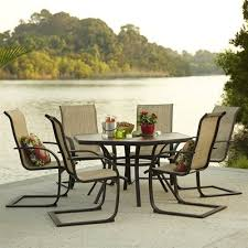Garden Treasures Hayden Island 7 Piece Outdoor Dining Set Hayden
