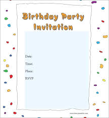 online free birthday invitations birthday invitation template online free or birthday party