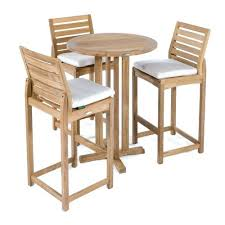 teak outdoor bar sets on stools kitchenaid mixer attachments somerset 4 bistro set
