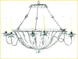 sophisticated non electric chandelier chandelier excellent decorative chandelier no light