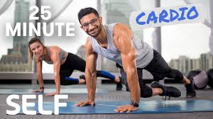25 minute full body cardio workout no