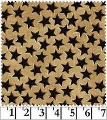 Midnight Cowboy western cotton quilt fabric Black stars on Red 1 ... & Midnight Cowboy western cotton quilt fabric Black stars on Tan 1 yard Adamdwight.com