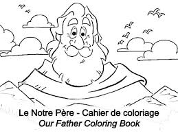 Our Father Coloring Page Eskayalitim