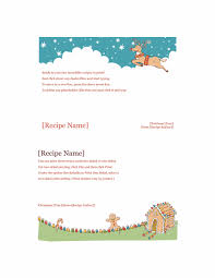 avery recipe card template recipe cards christmas spirit design works with avery 5889