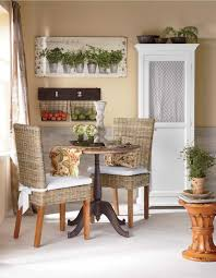Living Room Chairs For Small Spaces Cozy Kitchen Maximize A Small Dining Space With A Round Table And