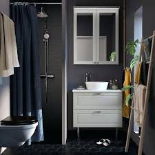 bathroom furniture bathroom ideas ikea black bathroom cabinet a small dark grey bathroom with white morgon