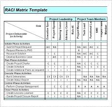 Roles Project And Responsibilities Matrix Templates Permissions