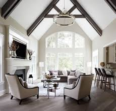 Living Room Bar Boston Example Of A Classic Formal Open Concept Living Room Design In