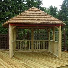 DIY:Outdoor Garden Gazebo With DIY Idea DIY Rustic Bamboo Gazebo Canopy  With Vertical Fence
