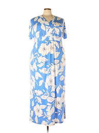 London Times Size Chart Details About London Times Women Blue Casual Dress 2x Plus