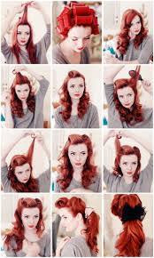 9 Retro Updos That Will Bring Out Your Inner Pin Up Girl Hairstyle
