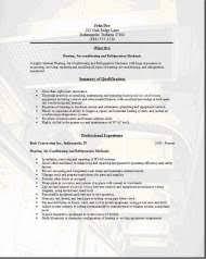 Hvac Resume Examples Samples Free Edit With Word