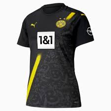 You can even represent a favorite player in a marco reus or mats hummels jersey or show your borussia dortmund pride with a plush toy of the club mascot, emma. Borussia Dortmund Away Women Jersey 2020 21