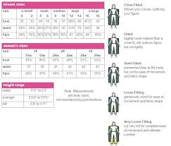 Tailored Sportsman Size Chart 14 Factual Slinky Brand Size Chart