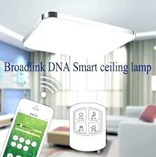 wireless led ceiling light with remote control and com co