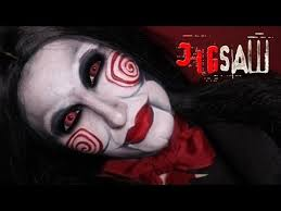 jigsaw puppet makeup tutorial billy saw scary horror make up for you