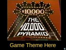 Powerpoint Game Show Template 10 000 Pyramid Powerpoint Game Show Template By Christopher Masullo