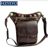 ivotkova men nylon ride leg bag drop fanny waist bags belt purse military motorcycle riding crossbody