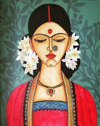 575 best paintings from india images on indian paintings indian art and fabric paint designs