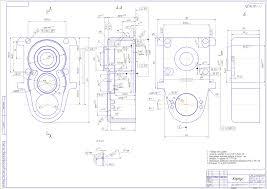 Курсовая работа по технологии машиностроения курсовое  Дипломный проект Разработка технологического процесса изготовления Корпус редуктора