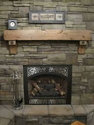 rustic fireplace mantel shelf corbels antique bolts craftsman cabin vintage wood stove insert fires burning stoves build gas and surrounds contemporary fire
