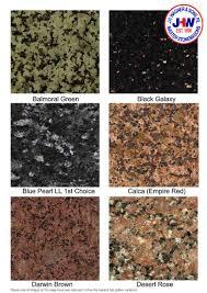 Granite Colours For Kitchen Benchtops Polished Granite