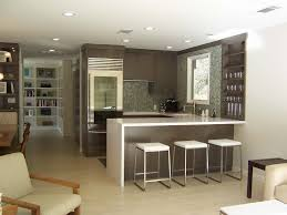 Peninsula Kitchen Open Concept Kitchen White Kitchen Cabis Quartz Countertops Open