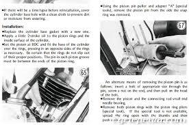 1971 1981 kawasaki g5 ke100 motorcycle online service manual ke100 3