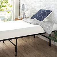 best bed frames. Zinus SC-SBBK-14NT-FR Smartbase Bed Frame Metal, Narrow Twin Best Frames D