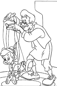Pinocchio Story Coloring Pages Coloring Pages