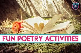 poetry activities six simple ways to