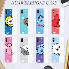 <b>Colorful</b> BT21 tpu pattern phone <b>case for huawei</b> nova 2i 3i 3e 2lite ...